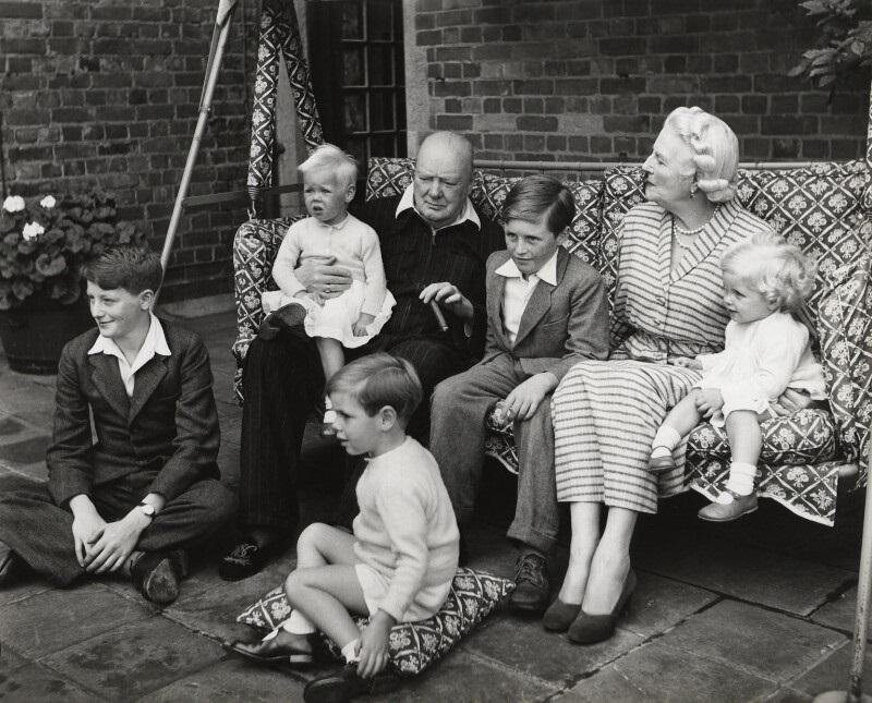 Churchill's family