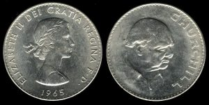 Winston Churchill Coin
