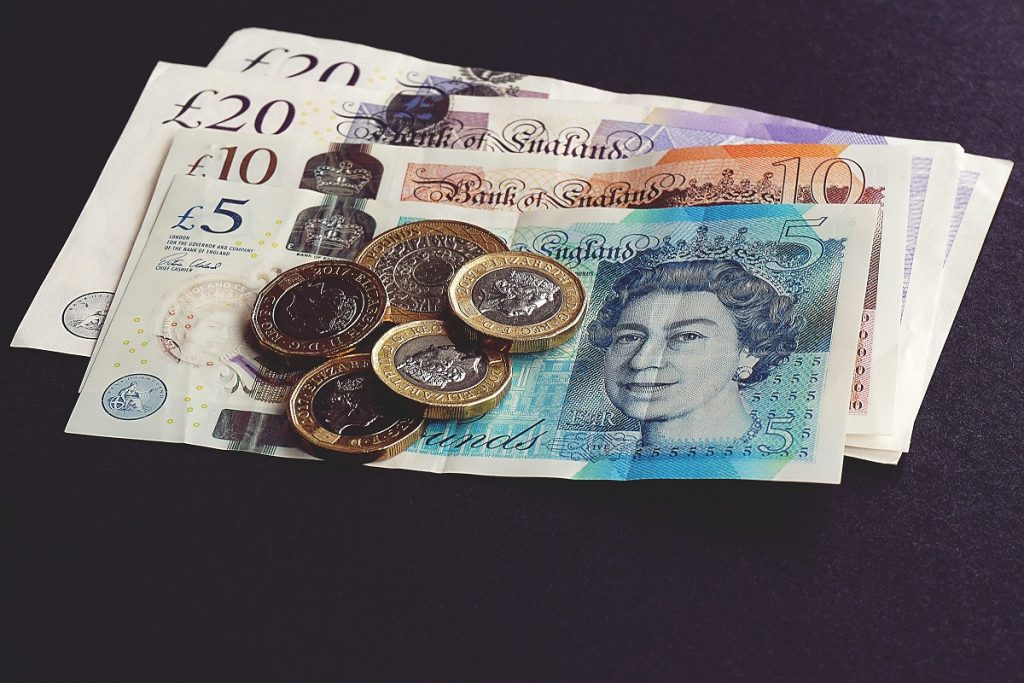 Quid bills and coins