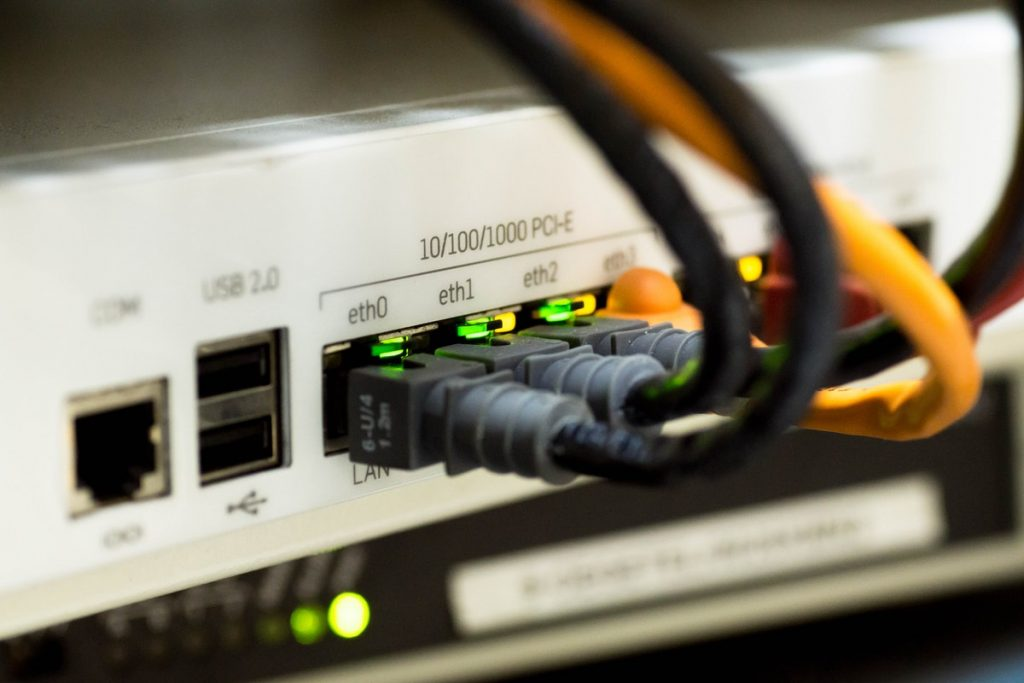 IT networking concept